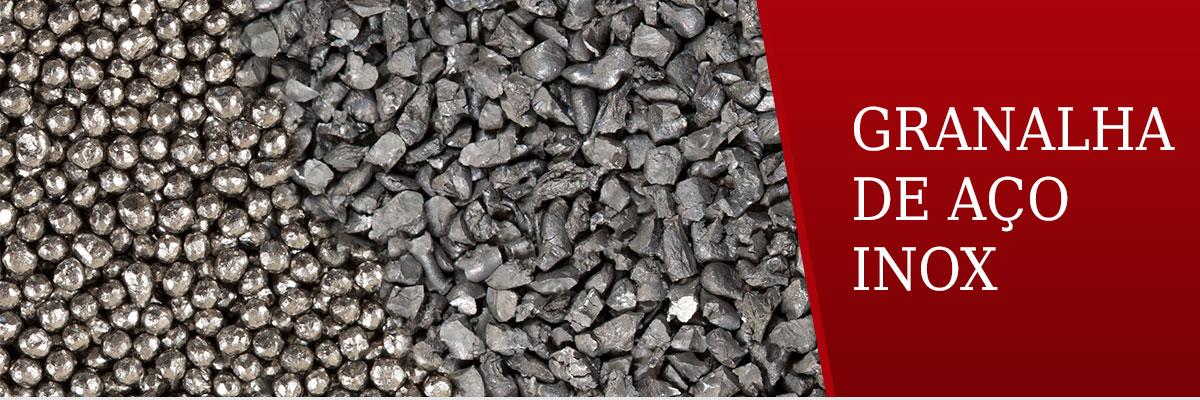 Granalha de Aço Inox
